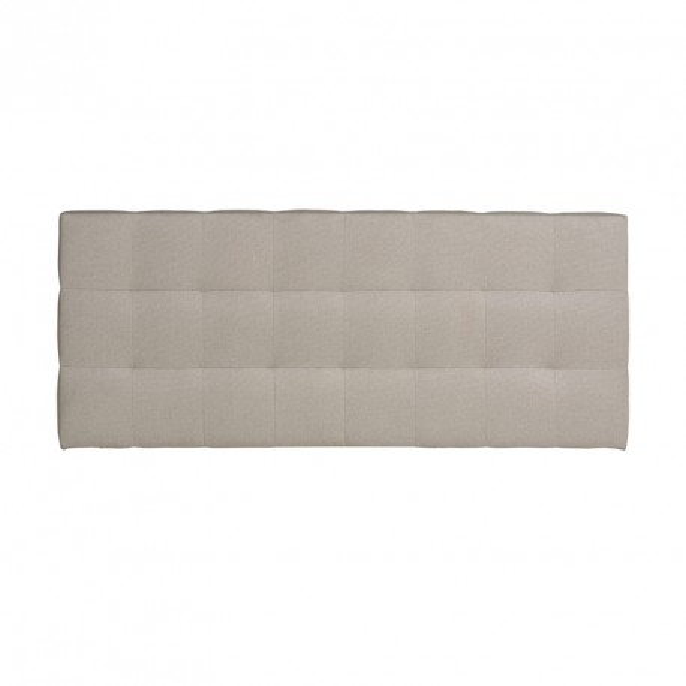 Tête de lit tissu Beige 152 cm - CATZ