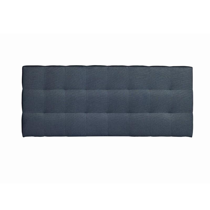 Tête de lit tissu Bleu 152 cm - CATZ n°2