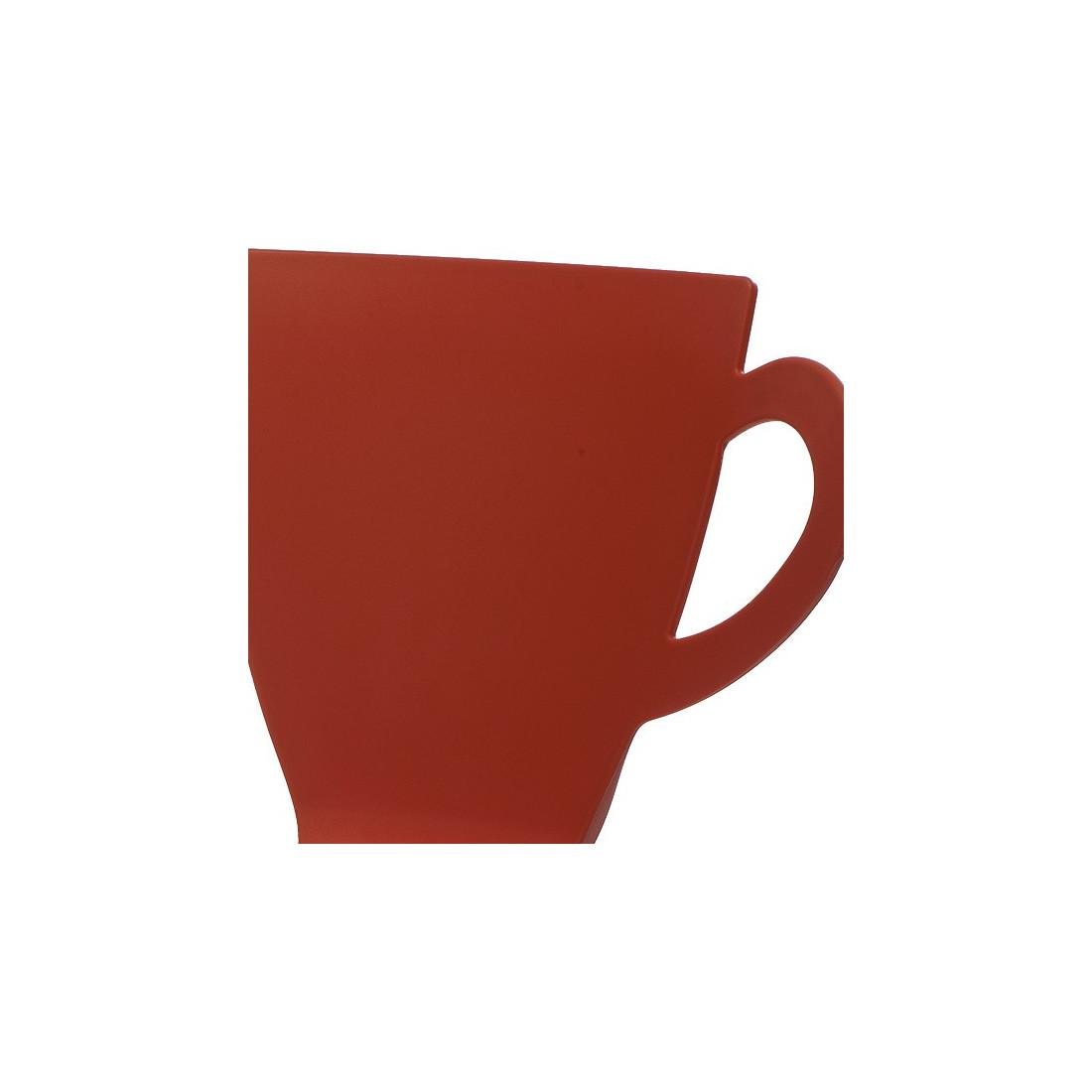 Quatuor De Chaises Rouge Mug Univers Salle A Manger Tousmesmeubles
