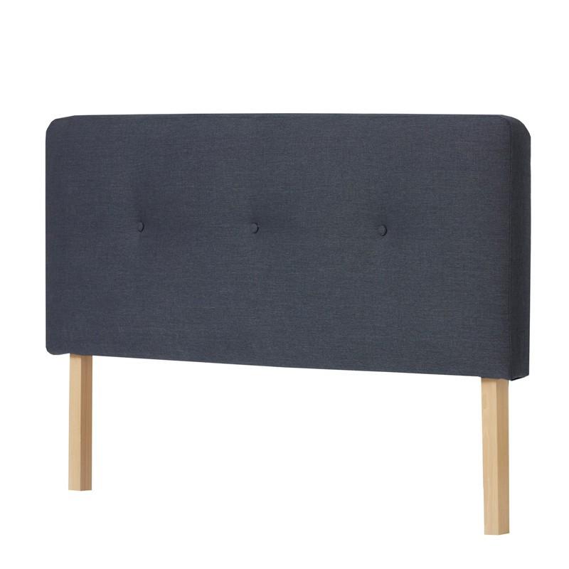 Tête de lit tissu Bleu 152 cm - JOEY n°1