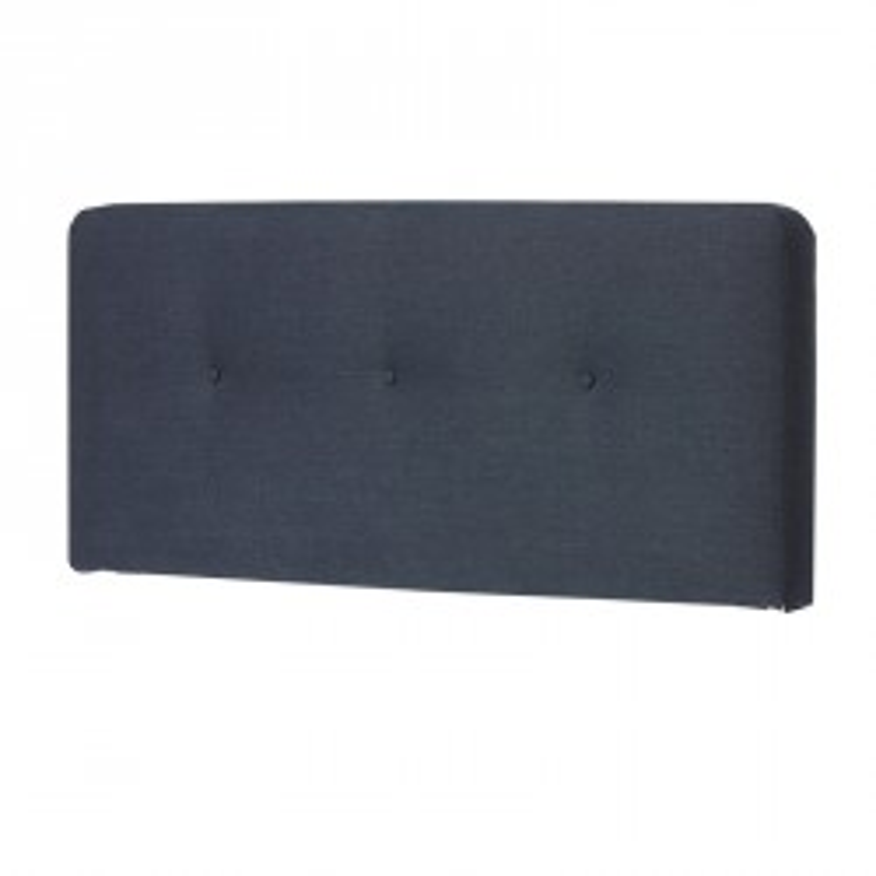 Tête de lit tissu Bleu 152 cm - JOEY n°2