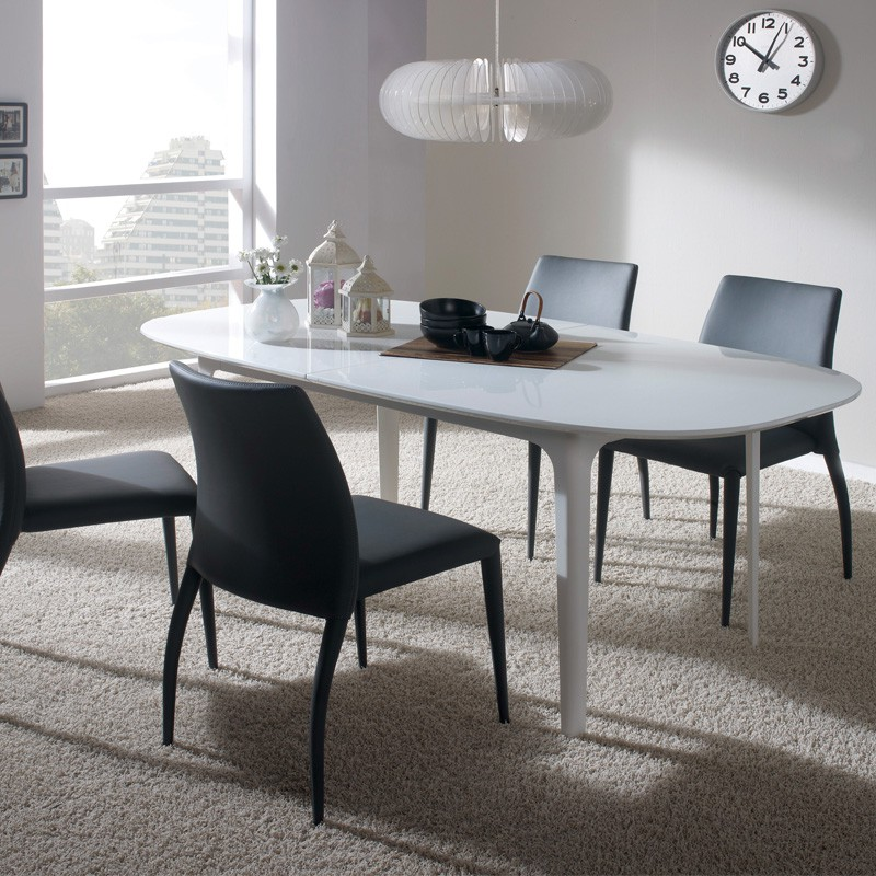 table de repas extensible ovo univers salle manger tousmesmeubles. Black Bedroom Furniture Sets. Home Design Ideas