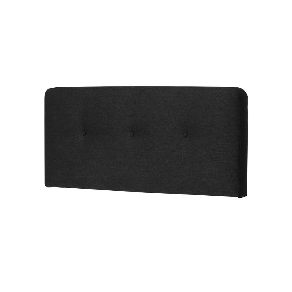 Tête de lit tissu Noir 172 cm - JOEY n°2