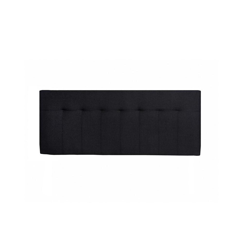 Tête de lit tissu Noir 152 cm - NOANO n°2