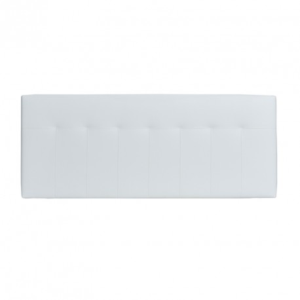 Tête de lit simili cuir Blanc 152 cm - NOANO n°2