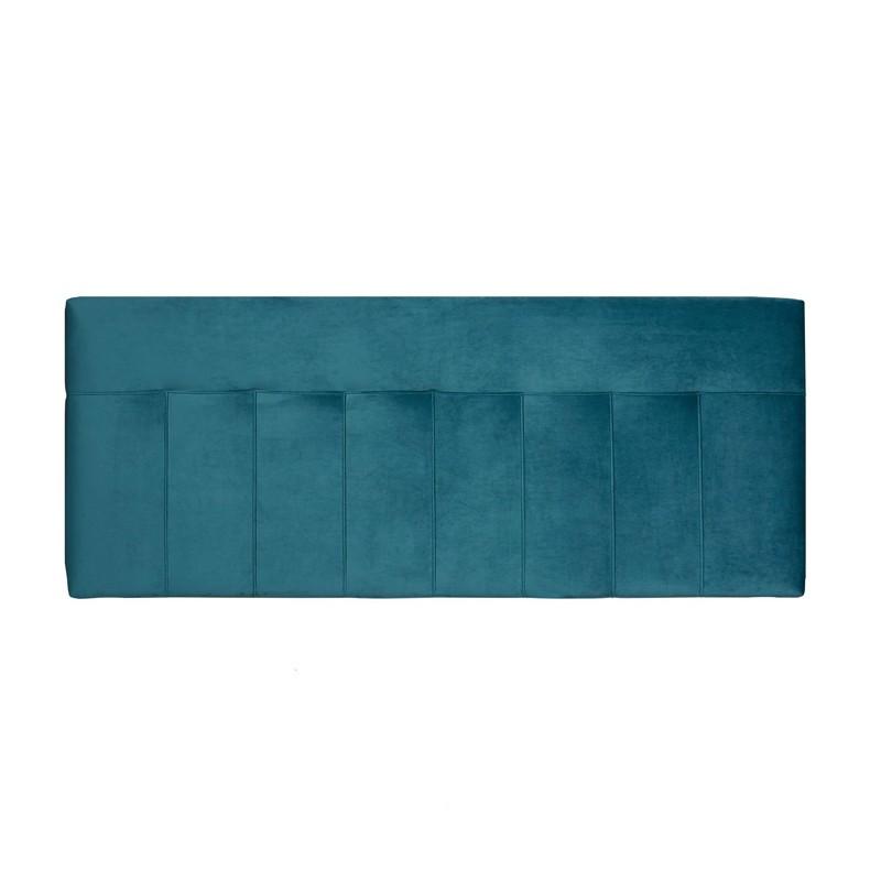 Tête de lit velours Vert canard 152 cm - NOANO n°2