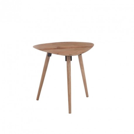Table d'appoint triangle arrondi taille M - LUCIA
