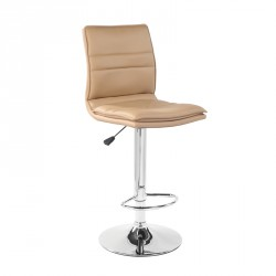 Tabouret de bar relevable Beige - INOS