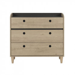 Commode 3 tiroirs - CHANA