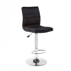 Tabouret de bar relevable Noir - INOS