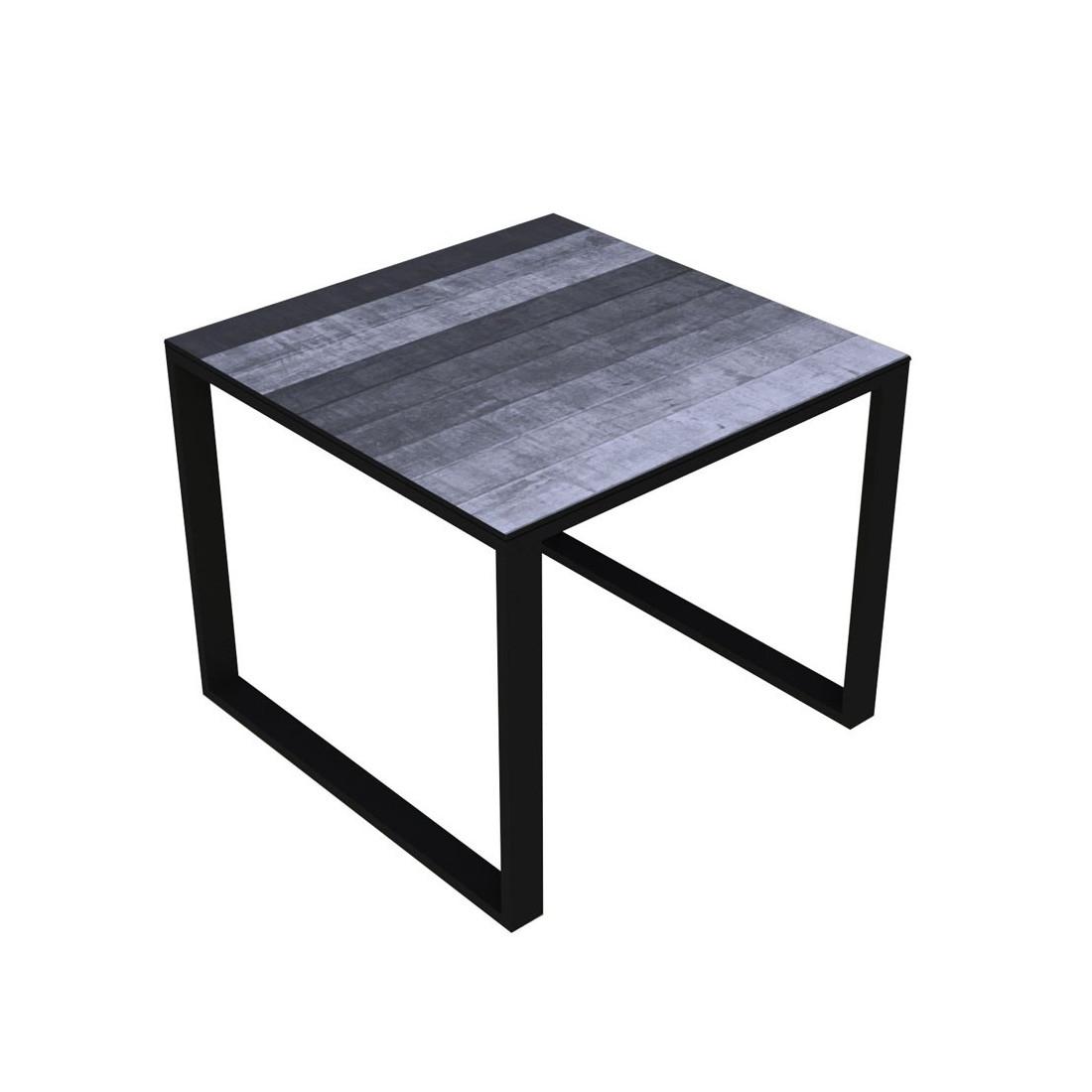 Table D Appoint Verre Noir Meilleures Ventes Boutique
