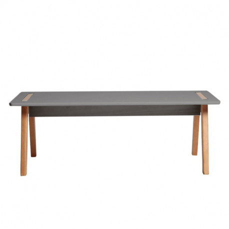 table basse scandinave gris anthracite bois chaca. Black Bedroom Furniture Sets. Home Design Ideas