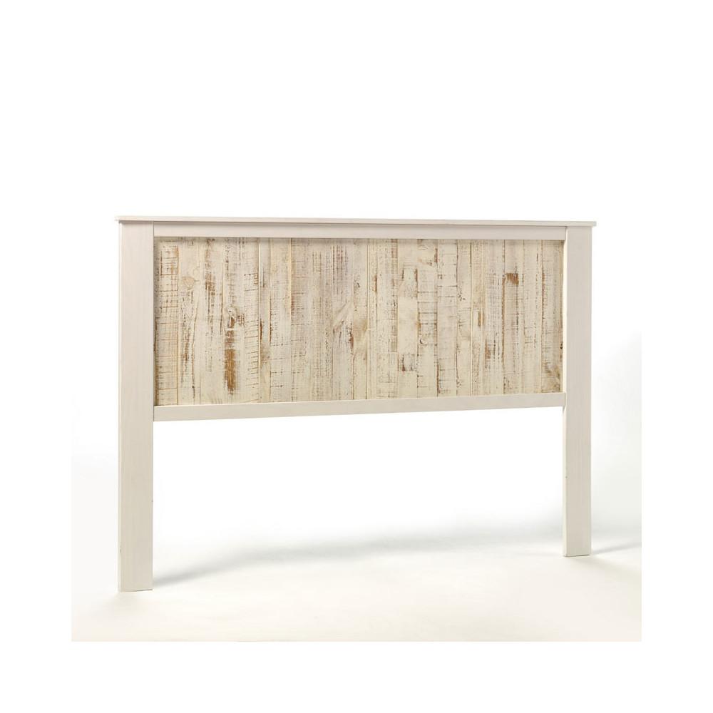 Tête de lit Bois blanchi 164 cm - LYHANA