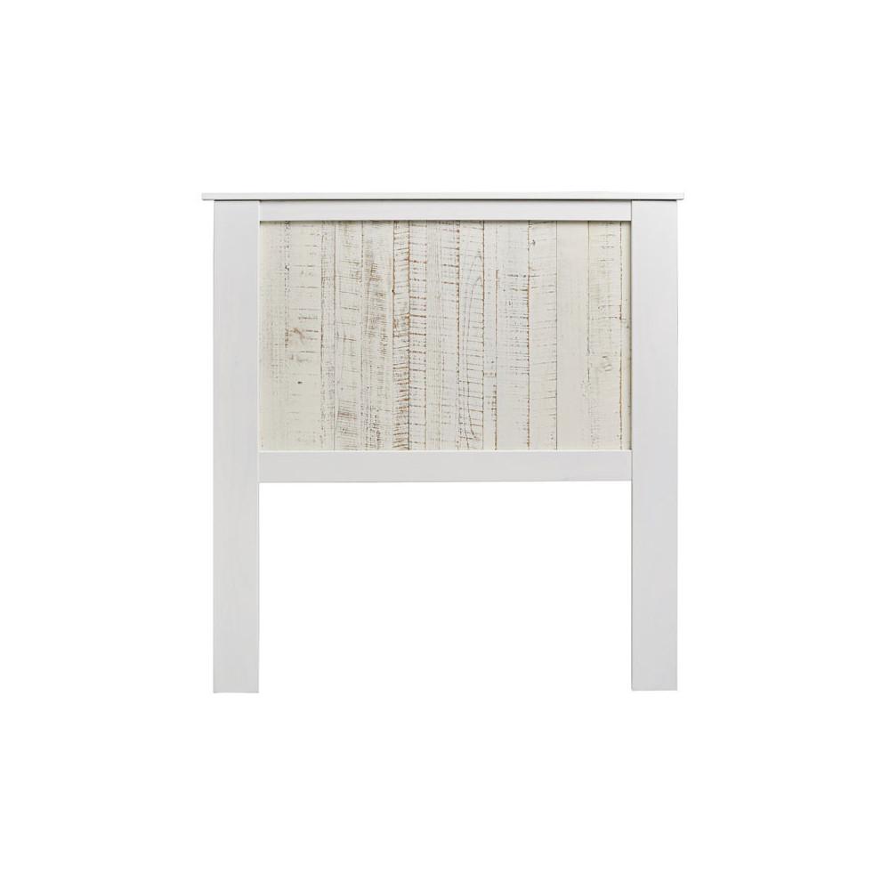 Tête de lit Bois blanchi 104 cm - LYHANA