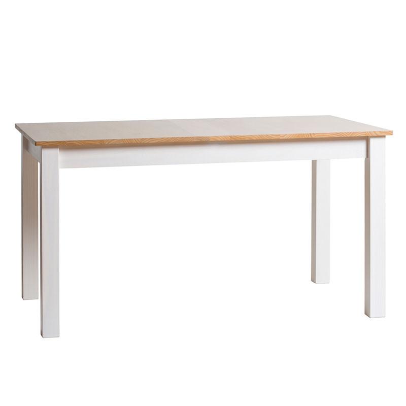Table de repas Blanc et Bois - EMIE n°2