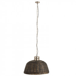 Suspension ronde taille S Bambou N°2 - LETA