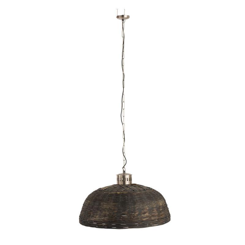 Suspension ronde taille M Bambou N°2 - LETA