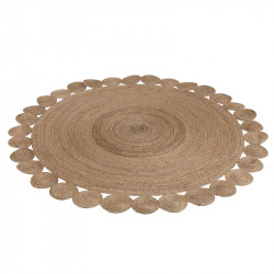Tapis rond en jute naturel - PLEAS