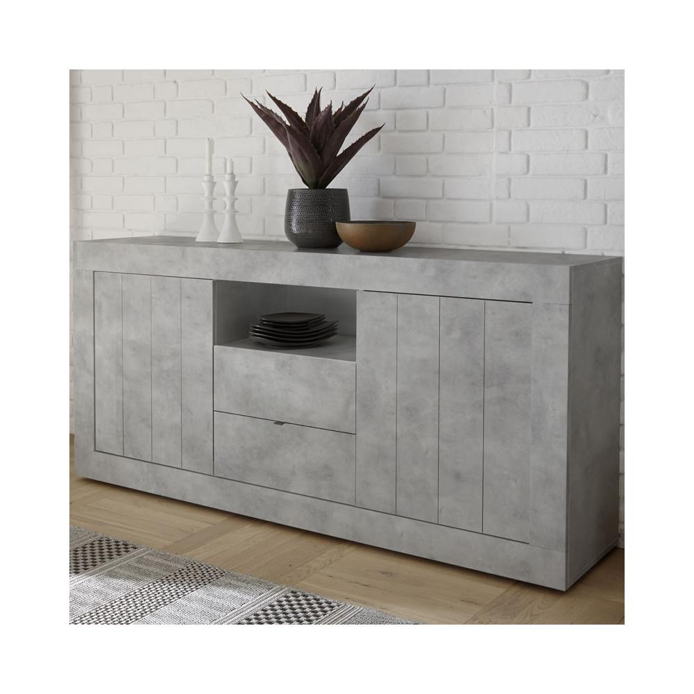 salle manger compl te b ton cir clair lubio n 2 salle manger. Black Bedroom Furniture Sets. Home Design Ideas