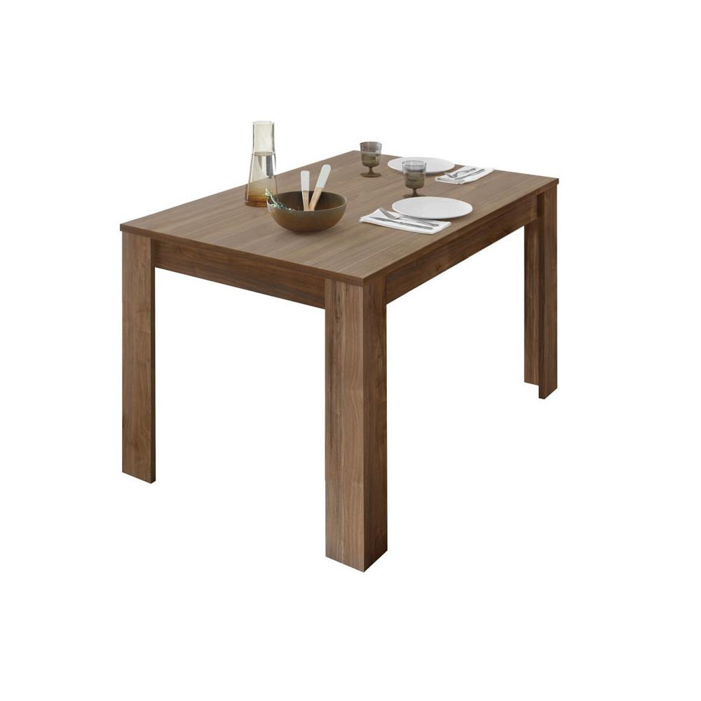 Table de repas rectangulaire Noyer - LUBIO