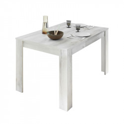 Table de repas rectangulaire Pin blanc - LUBIO