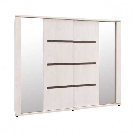 Armoire 2 portes coulissantes 220 cm - MADELINE