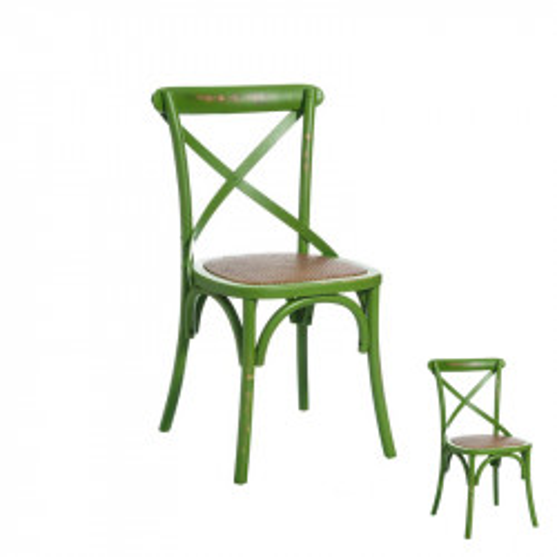 Duo de chaises Bois Vert - BRETT