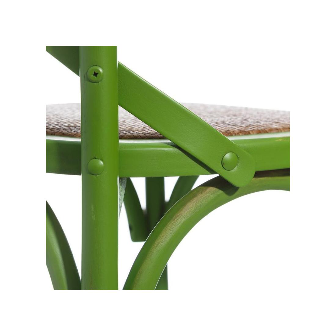 d'orme Univers des chaises bistrot Bois BRETT Duo Vert de J3KTcl1F