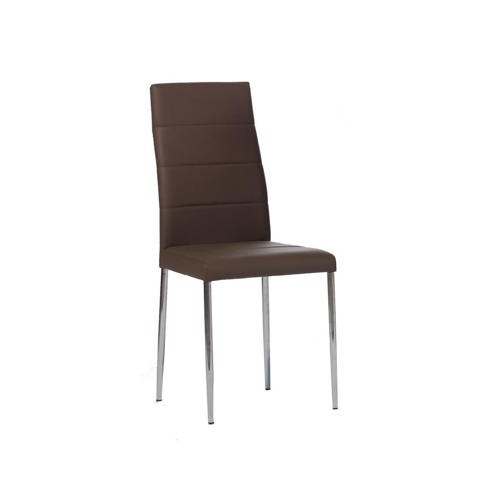 Quatuor de chaises Cappuccino ALTA