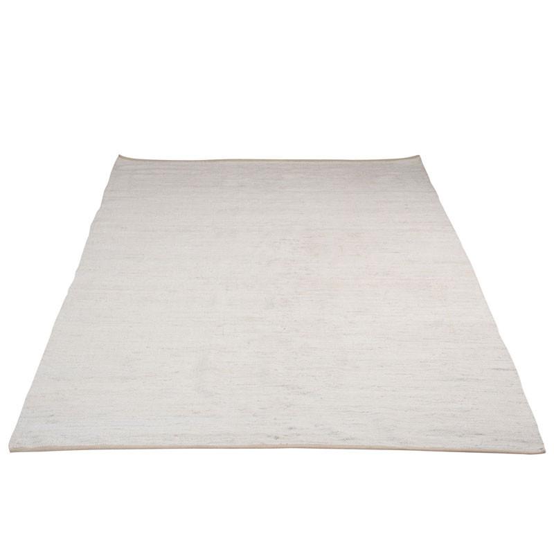 Tapis rectangulaire Chindi blanc - FERDINAN