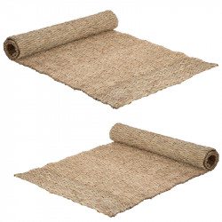 Duo de Tapis Paille naturel - DILMA