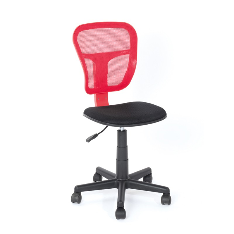 Chaise de bureau rouge hispa univers bureau tousmesmeubles for Chaise fly rouge