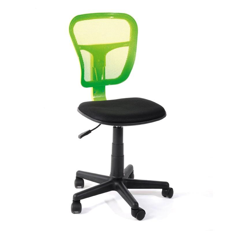 Chaise de bureau Pistache - HISPA - L 47 x l 41 x H 81 / 96