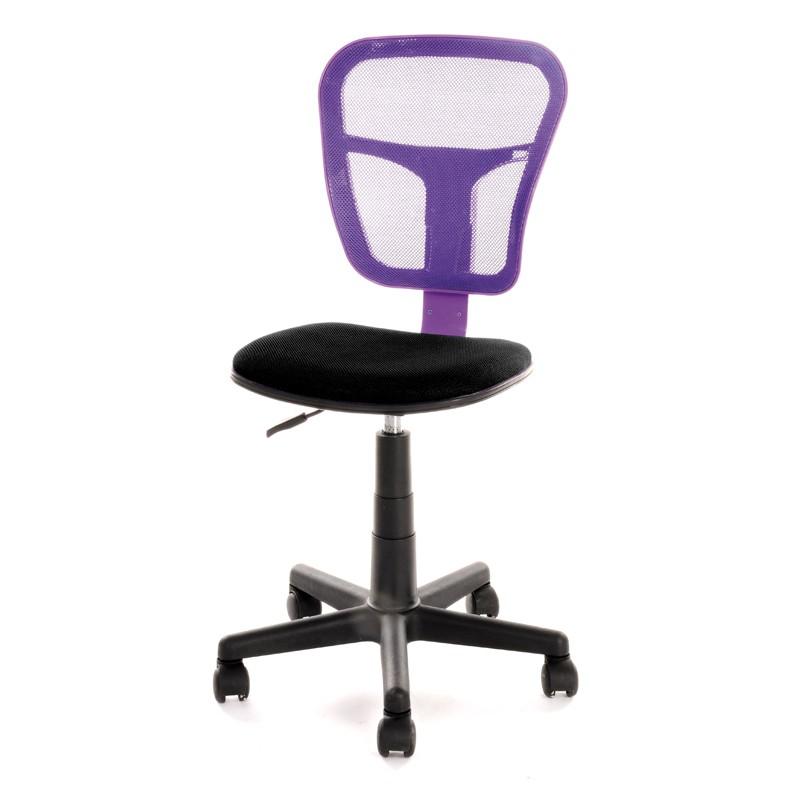 Chaise de bureau Violette - HISPA - L 47 x l 41 x H 81 / 96
