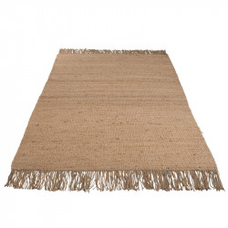 Tapis à franges Jute naturelle - PLEAS