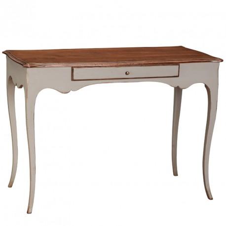 Table à écrire blanche en bois - BLANDINE