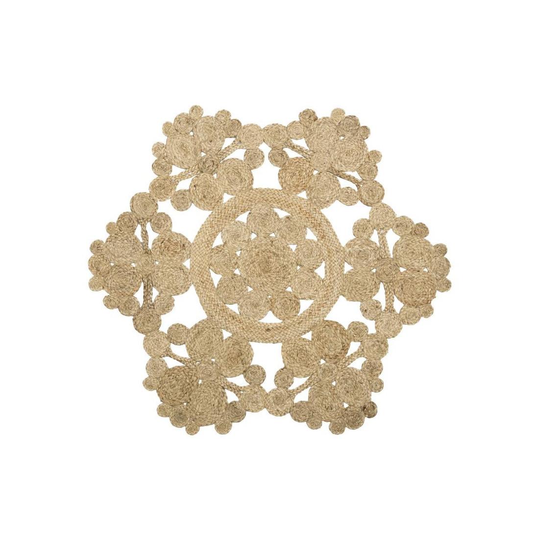 tapis fibres naturelles 120 120 n 3 peale univers de la d coration. Black Bedroom Furniture Sets. Home Design Ideas