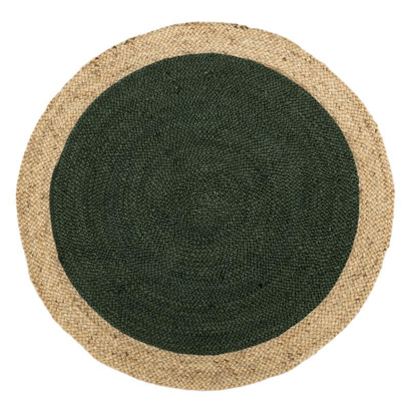 Tapis Fibres vert 180*180 N°4 - PLEANE
