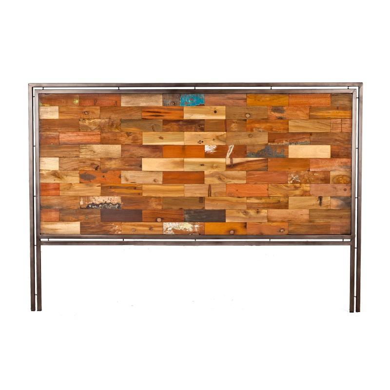 Tête de lit en bois 160 cm - INDUSTRY - L 160 x l 2 x H 110