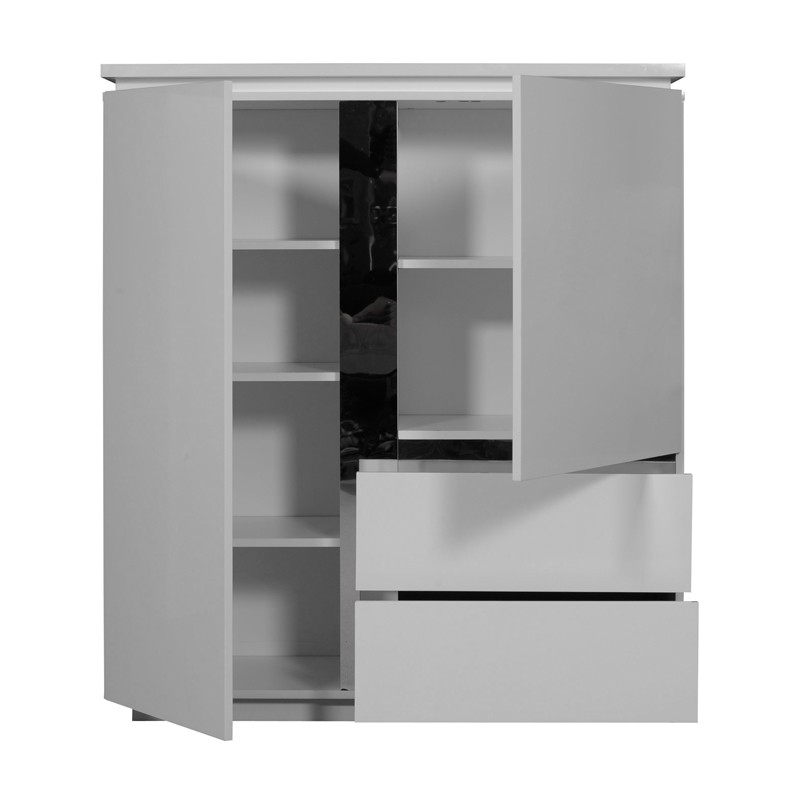 armoire de salon laque blanche n 1 carmen univers salle manger. Black Bedroom Furniture Sets. Home Design Ideas