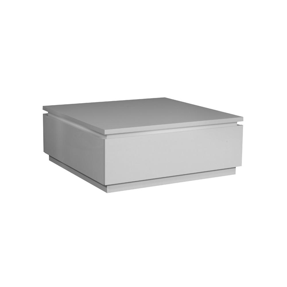 Table basse laqué Blanc
