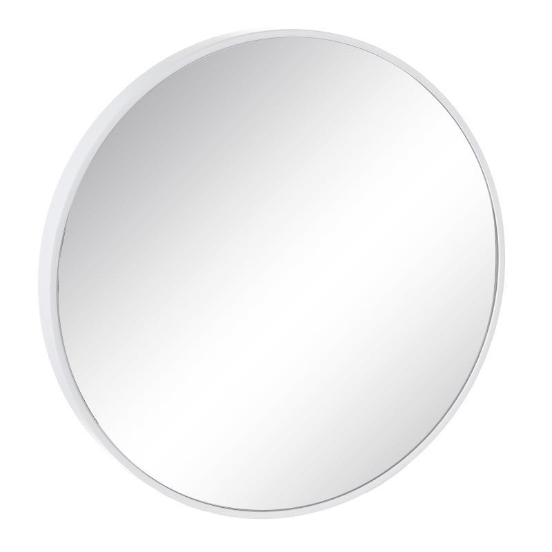 Miroir rond Bois blanc - TONKA