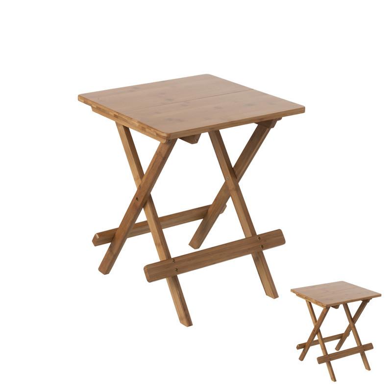 Duo de tables pliantes en Bambou - JASMINE