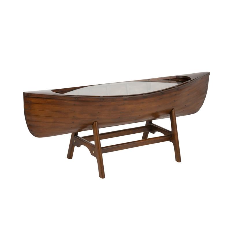 Table de salon bateau en Bois - FREESIA