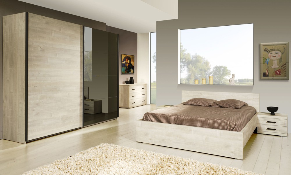 Promotion 30 chambre adulte compl te 140 190 etra for Prix chambre complete