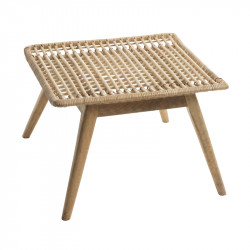 Table basse en Rotin Naturel - UPDIA