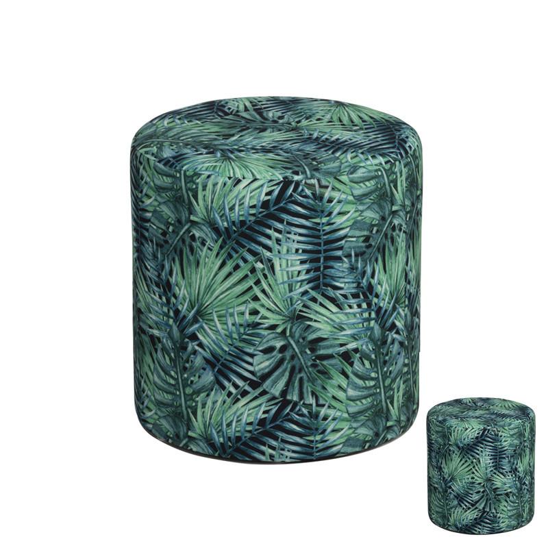 Duo de Poufs motifs tropical - ARARA