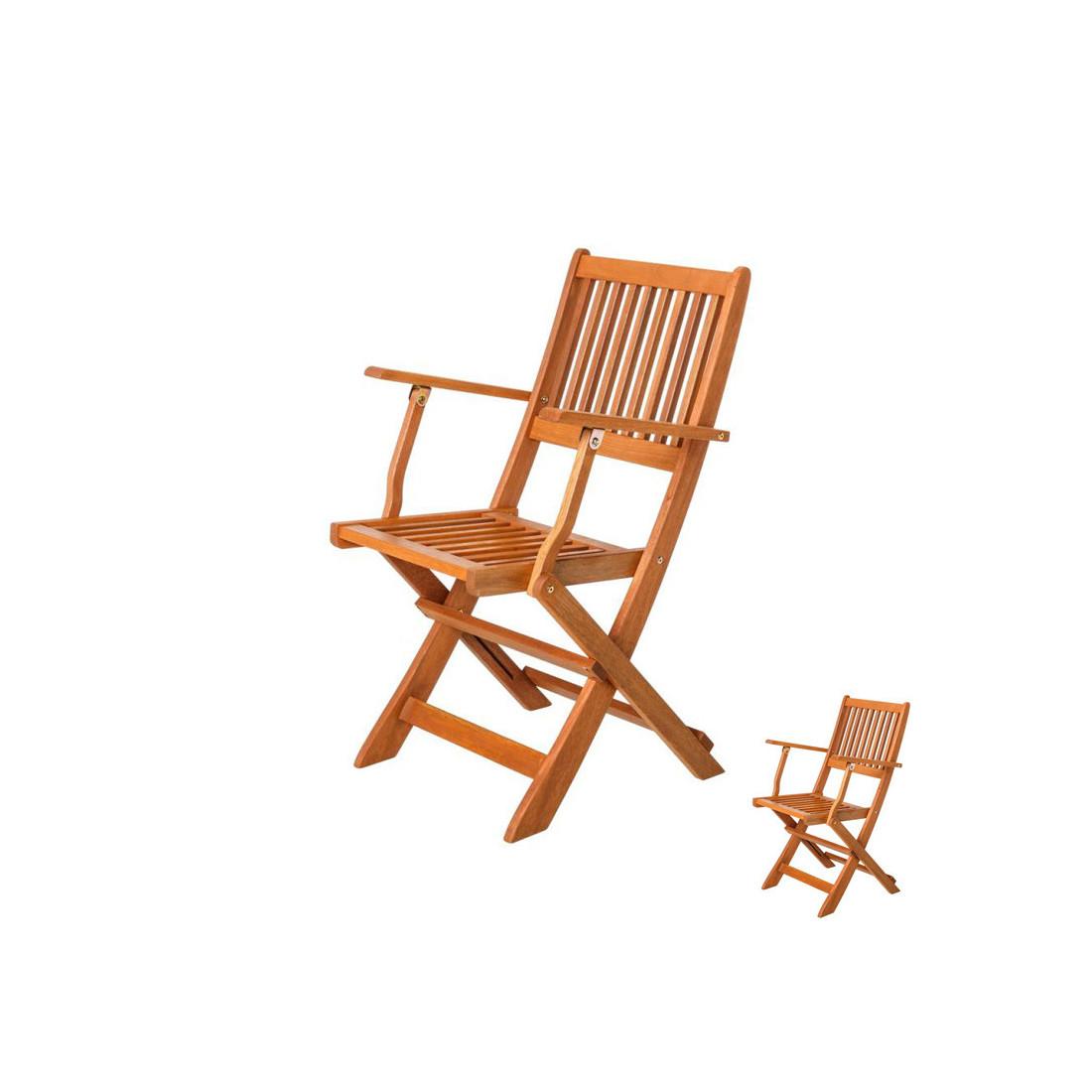duo de chaises pliantes avec accoudoirs en bois moofushi. Black Bedroom Furniture Sets. Home Design Ideas
