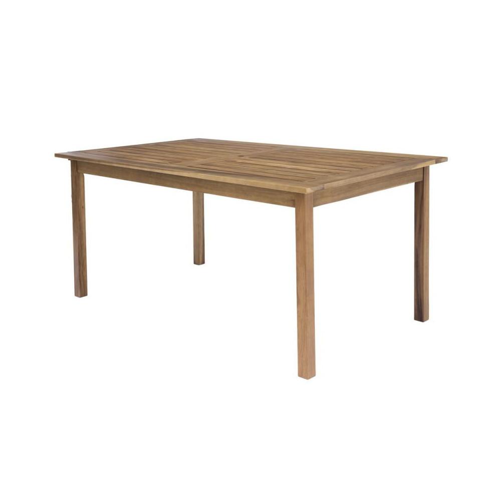 Table de repas rectangulaire en Bois - OLUVELI