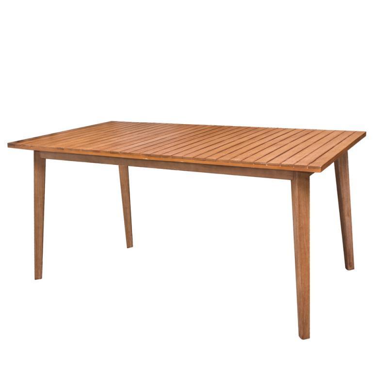 Table de repas rectangulaire en Bois - HURAA